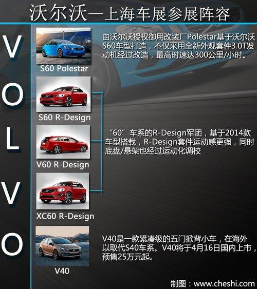 性能車型唱主角 沃爾沃車展陣容搶先看