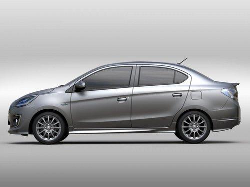 曝三菱G4緊湊轎車概念車 上海車展亮相