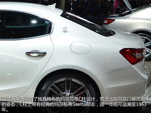 少年總裁 上海車展實拍瑪莎拉蒂Ghibli
