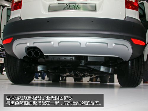 大平臺上的小SUV 斯柯達Yeti車展全解析