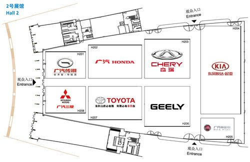 多款重量级车型 2013成都车展参观指南