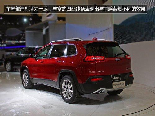 另类新物种 Jeep全新城市SUV自由光实拍