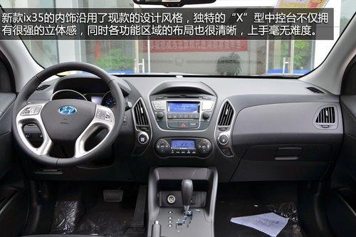 统一家族化外观 实拍北京现代新款ix35
