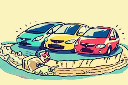 中国二手车市场傍上金融 未来市场不可估量