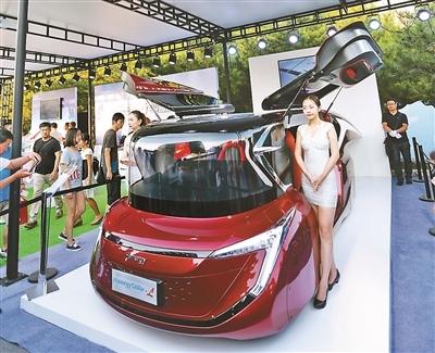 汉能发布四款全太阳能动力汽车:重新定义新能源概念