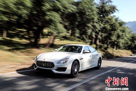 玛莎拉蒂新款总裁轿车GranSport运动版广州车展首秀