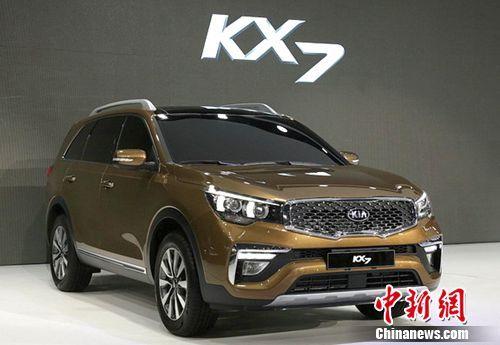 东风悦达起亚中型SUVKX7广州车展首秀