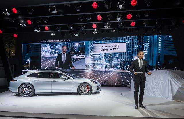 三款Panamera在2017上海车展震撼首发