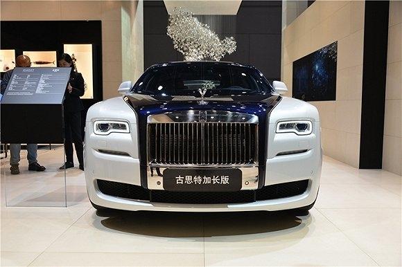 上海车展藏着这些天价豪车:王校长一次买两辆