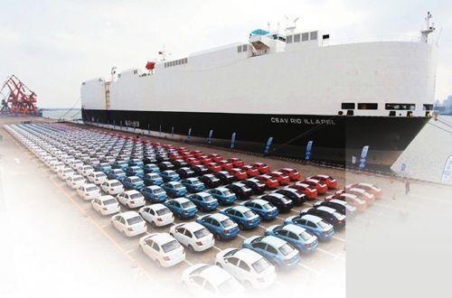 外销89万辆 增长26% 2017汽车出口五年来首次回升