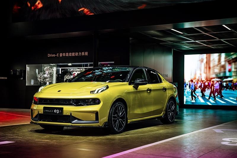 领克03+于2019深港澳国际车展首发亮相