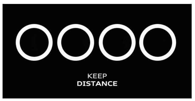 奥迪大众修改Logo 呼吁保持社交距离