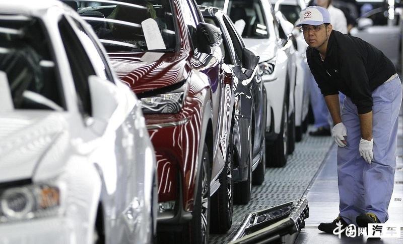 丰田日本国内工厂5月将减产约7.9万台