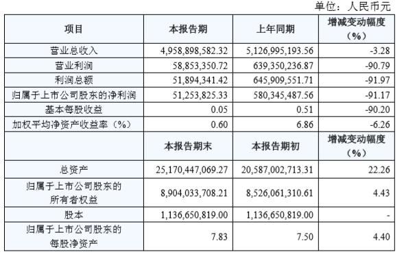 国轩高科公布2019年年报:营收49.5亿元 同比下滑3.28%