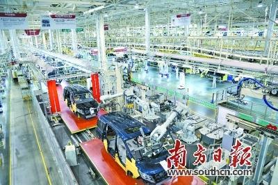 广东汽车工业上半年呈V形反弹