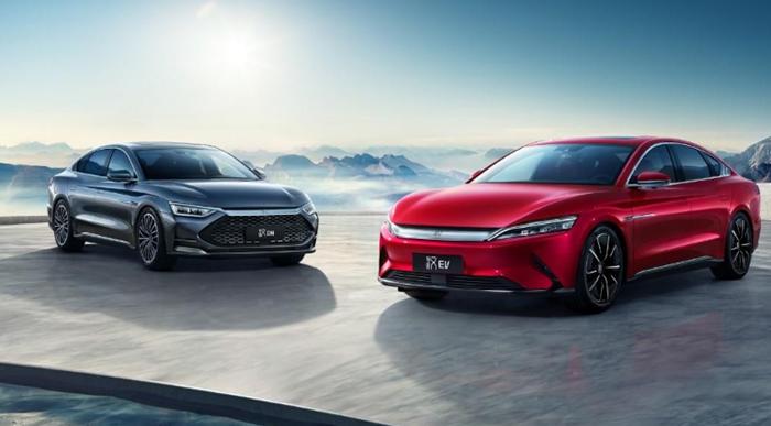 比亚迪3月产销发布:新能源车销24,218辆