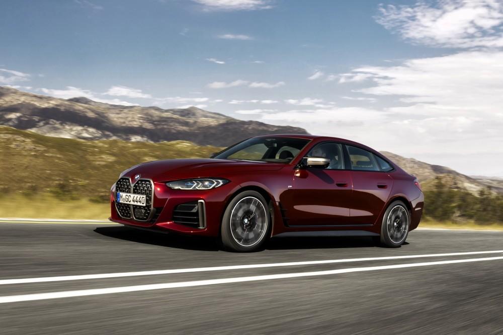 兼顾实用与动感 全新宝马4系Gran Coupe发布