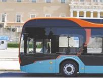比亚迪电动客车在雅典试运行