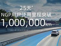 小鹏汽车NGP功能:用户使用里程已超百万公里