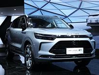 BEIJING汽车首款插电式混合动力车型BEIJING-X7 PHEV亮相北京车展