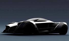 新加坡首款超跑发布 将亮相日内瓦车展