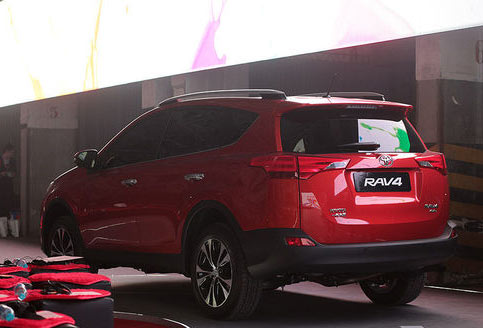 預計9月份上市 一汽豐田新一代RAV4發佈