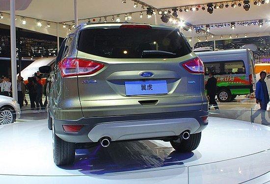 全新福特翼虎SUV-十大将要上市的SUV车型 趋小型化高清图片