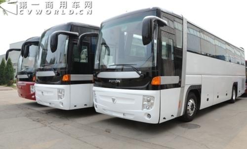 42辆福田欧辉客车将分批出口阿联酋图片
