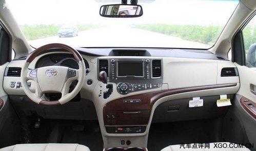 进口商务车丰田塞纳27图片高清图片