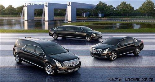 加长版及灵车 凯迪拉克xts推两款衍生车