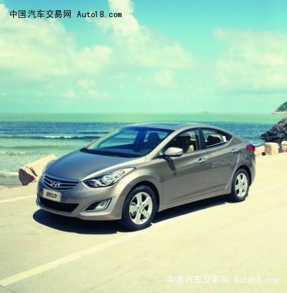 带着兰花般的线条 试驾体验北京现代朗动