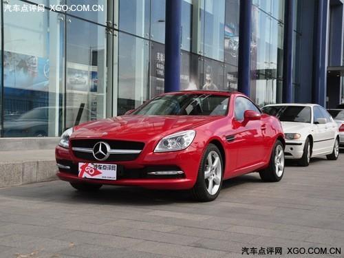 奔驰slk200现金直降8.8万元 动感跑车高清图片