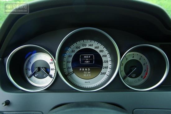 奔驰c200灯光按钮图解
