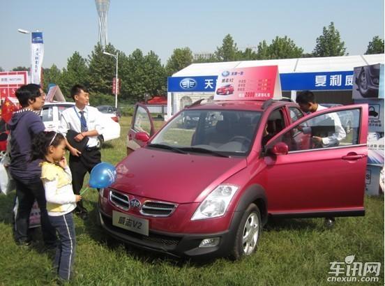 威志v2   :是天津一汽面向21世纪而开发的国际化的战略车型,高清图片