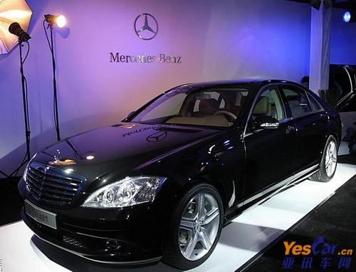 奔驰s级综合优惠达11万元 少量现车销售 高清图片
