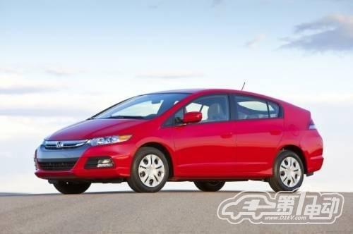 本田公司混合动力汽车全球总销量超100万高清图片