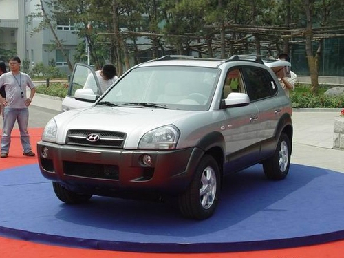 北京现代途胜2.0车型优惠4万 现车有售高清图片