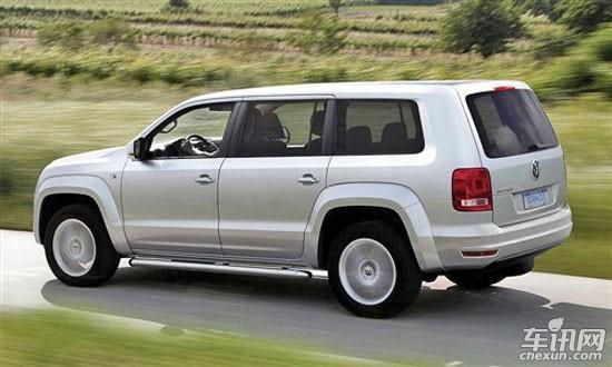 大众在美市场推全新7座SUV 采用MQB平台高清图片