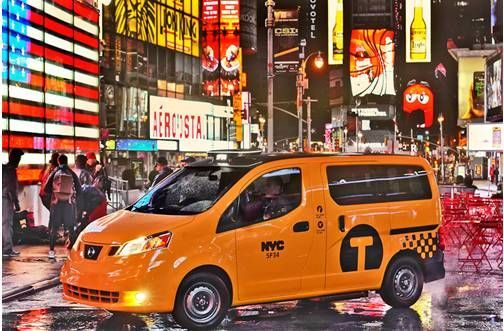 日产nv200 荣膺最受欢迎出租车用车选择图片