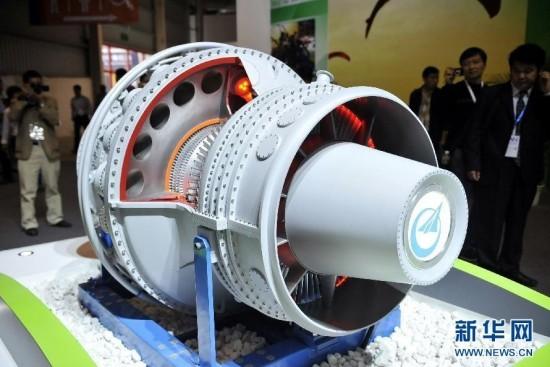 中国珠海航展:新款航空发动机首亮相
