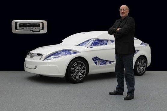 欧美设计师助中国汽车产业发展自主品牌