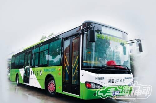 2012年度绿车评选纯电动客车之苏州金龙海格(1)