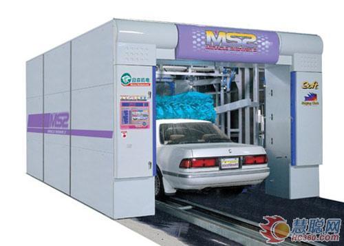 日森隧道式全自动洗车机