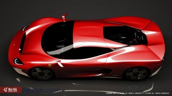 恩佐后继车型前瞻 解读法拉利gte概念车高清图片