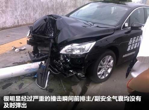 东风标致508试驾车辆-故障频发存隐患 标致508市场前景堪忧高清图片