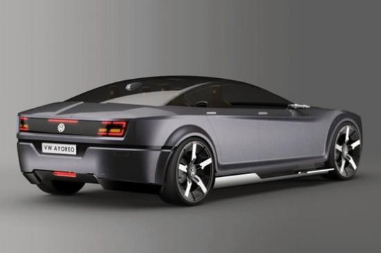 近日,挪威的工业设计领域的Erik Stre为大众设计了一款电动四门轿跑车,命名为Ayoreo,这也是大众旗下首款电动车,并将于2013年正式进入电动车市场。    外观方面,新车造型十分动感,前脸部分同样有大众家族式脸谱的设计元素,车身线条也十分犀利,新车将采用适合家庭的5座布局。    动力方面,新车通过安排在车轮上的电动马达实现车辆的四驱模式,车辆的峰值功率将达到240匹马力(176千瓦)。    编辑点评:这款电动车外观非常动感,动力也比较强劲,如果届时会有一个合理的售价,相信一定会获得消费者