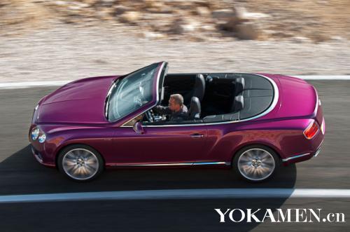 T-Speed敞篷版俯视官图-新款宾利欧陆GT Speed敞篷版官图曝光高清图片