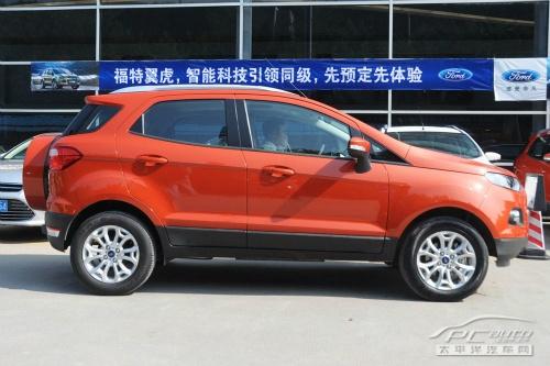 福特翼搏将推七座版 小型SUV挤三排座位高清图片