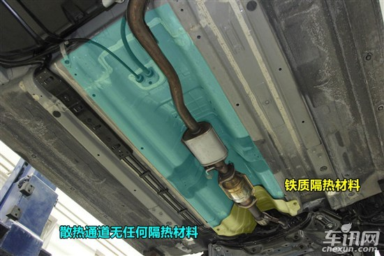 k2цk2ε塣 起亚k2拆解点评 铁质油箱 底盘防护是软肋高清图片