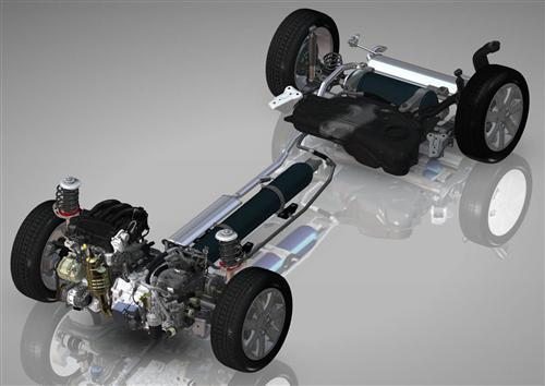 雪铁龙空气混合动力技术解析图片